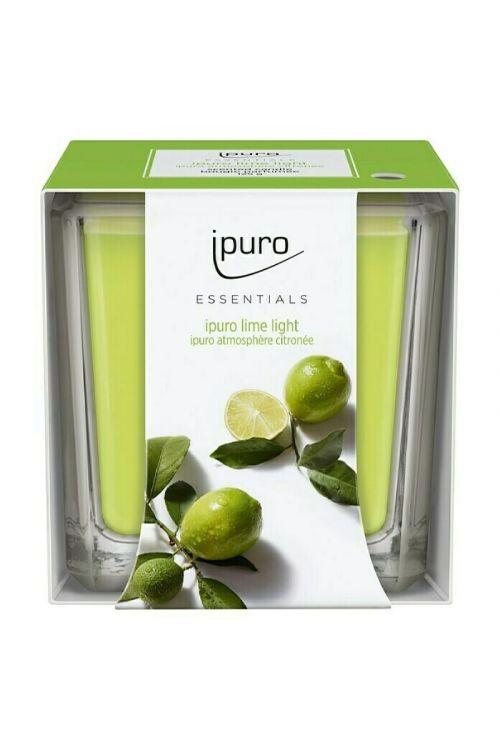 Dišeča sveča Ipuro ESSENTIALS Lime Light (125 g)