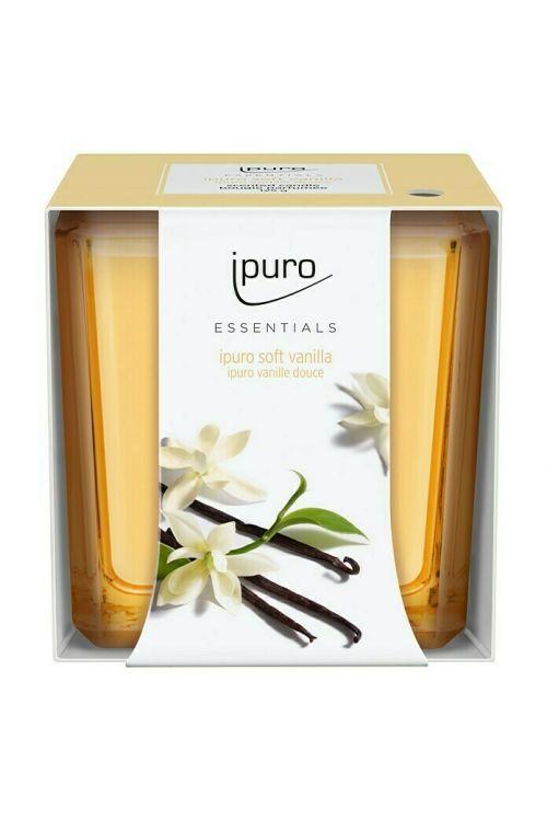 Dišeča sveča Ipuro ESSENTIALS Soft Vanilla (125 g)