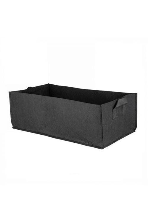 Sadilna vreča PlantIN (57 l, pravokotna, črna)