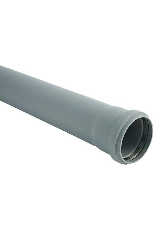 Cev za hišno kanalizacijo (DN 110, dolžina: 50 cm)