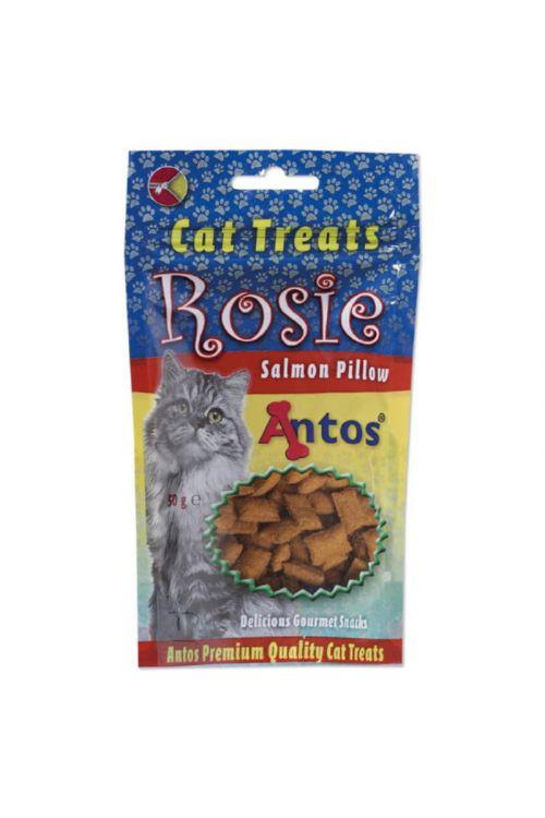 Priboljški za mačke Antos Rosie (50 g, losos)