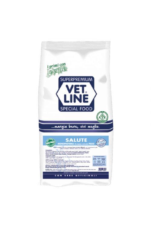 Briketi za mačke Vet Line Health (400 g, riba)
