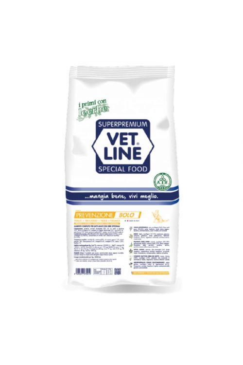 Briketi za mačke Vet Line (1 kg, puran in riba)