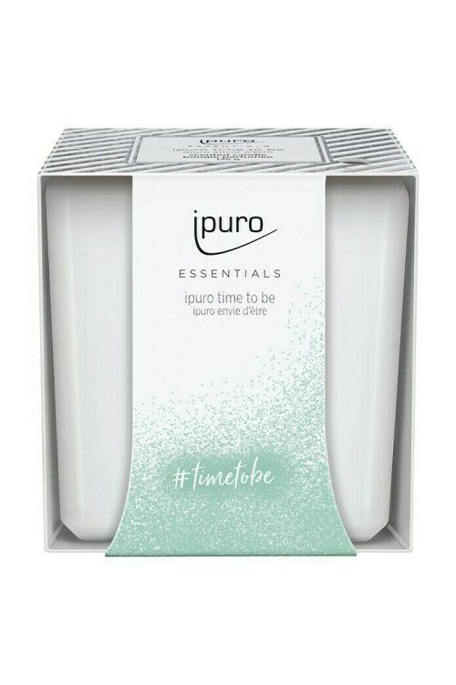 Sveča Ipuro ESSENTIALS Time to be (125 g)