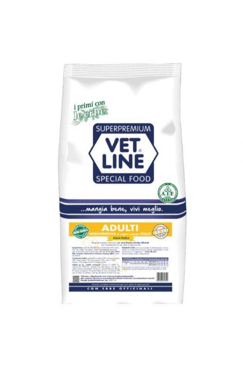 Briketi za pse Vet Line (1 kg, piščanec)