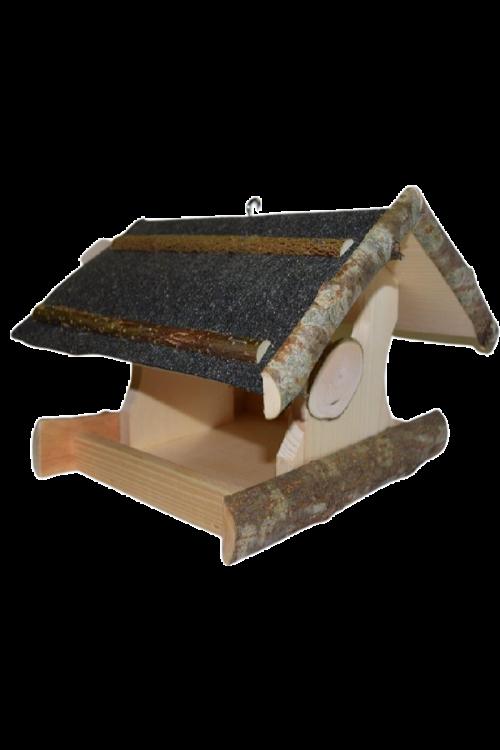 Ptičja krmilnica Bonami Kalin (30 x 30 x 23 cm, smreka)