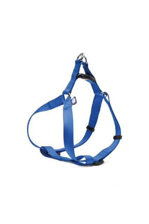 Oprsnica za pse (širina traku: 2,5 cm, obseg prsnega koša: 56 - 81 cm, modra)