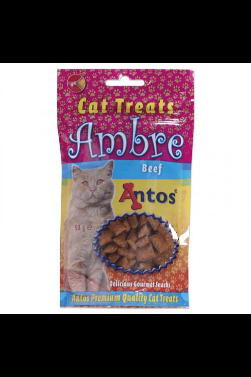 Priboljški za mačke Antos Ambre (50 g, govedina)