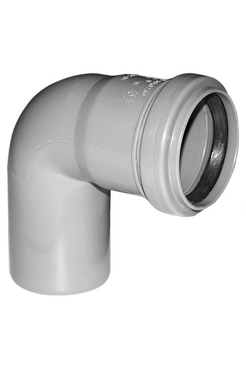 Cevno koleno za hišno kanalizacijo (DN 110, 87°)
