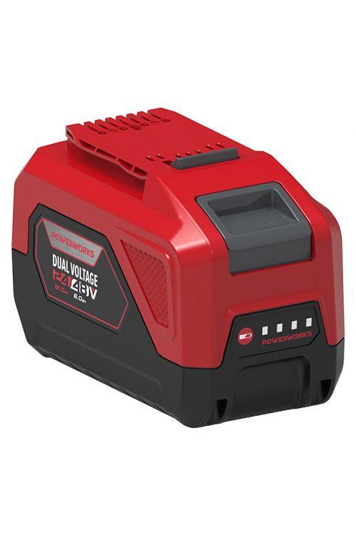 Baterija POWERWORKS P2448B6 (6 Ah, za vse 24/48 V Powerworks naprave, čas polnjenja 360 min)