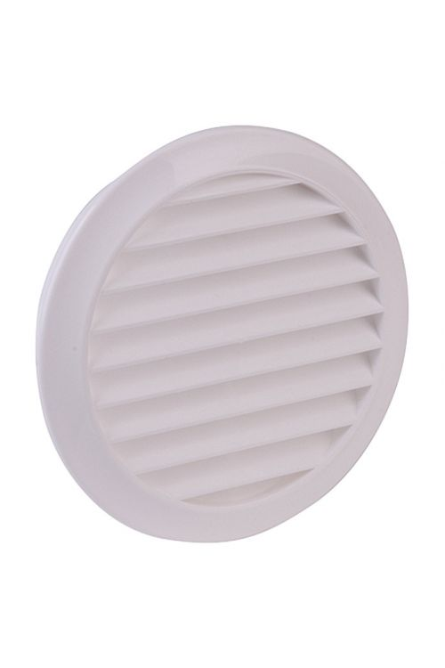 Prezračevalna rešetka Air-Circle (premer priključnega nastavka: 100 mm, bela)