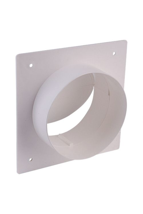 Zidni priključni nastavek Air-Circle (premer priključnega nastavka: 125 mm, maks. pretok zraka: 600 m³/h)