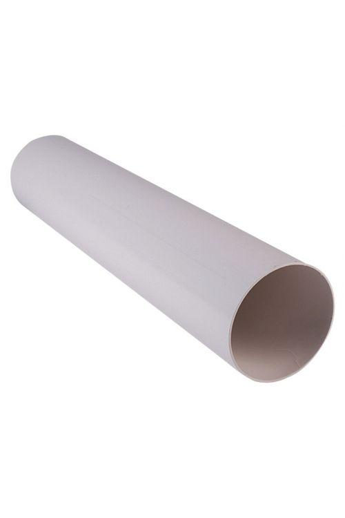 Okrogla cev Air-Circle (premer: 100 mm, dolžina: 1 m, maks. pretok zraka: od 300 m³/h, PVC)