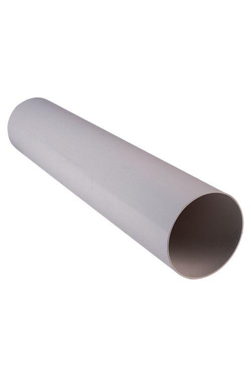 Okrogla cev Air-Circle (premer: 100 mm, dolžina: 0,5 m, maks. pretok zraka: 300 m³/h, PVC)
