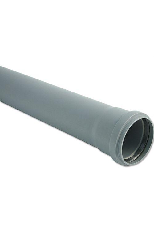 Cev za hišno kanalizacijo (DN 110, dolžina: 25 cm)