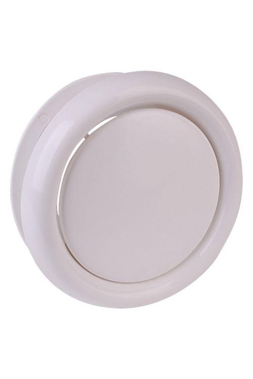 Krožnikasti prezračevalni ventil Air-Circle (premer priključnega nastavka: 100 mm, maks. pretok zraka: 300 m³/h)
