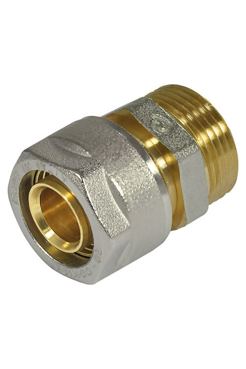 Vijačna sklopka (premer: 16 mm, zunanji navoj: ½-palčna, nikljana)