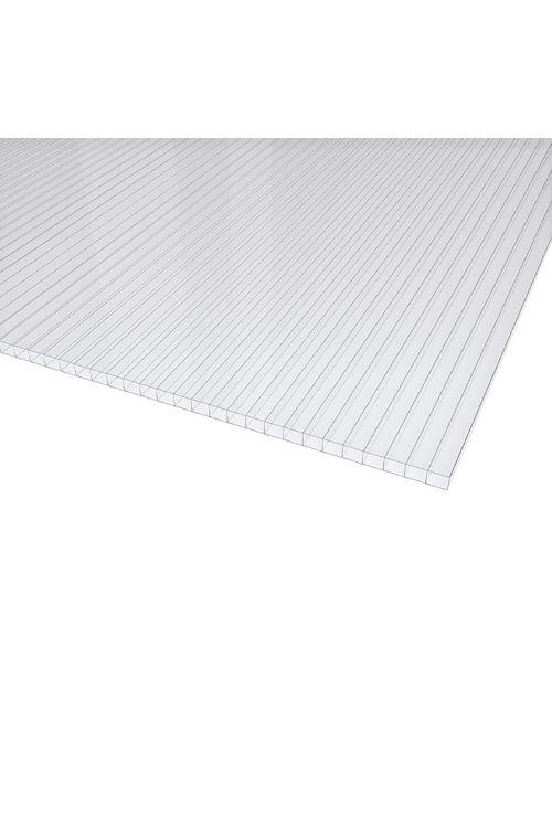 Votla plošča Makrolon (prozorna, polikarbonat, 120 cm x 80 cm x 4 mm)