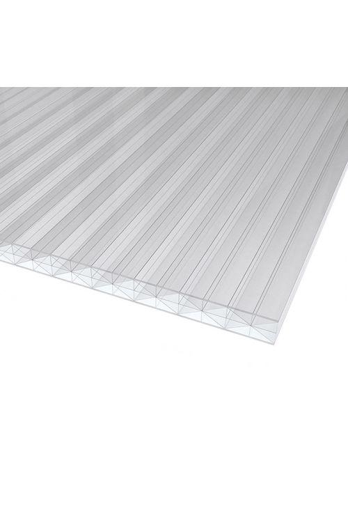 Votla plošča Makrolon (prozorna, polikarbonat, 200 cm x 98 cm x 16 mm)