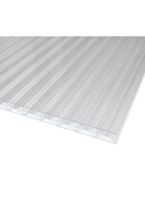 Votla plošča Makrolon (prozorna, polikarbonat, 300 cm x 98 cm x 16 mm)
