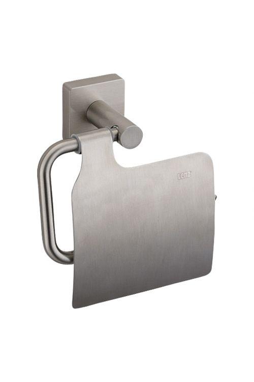 Nosilec toaletnega papirja Sky, Lenz (s pokrovom, nikelj)
