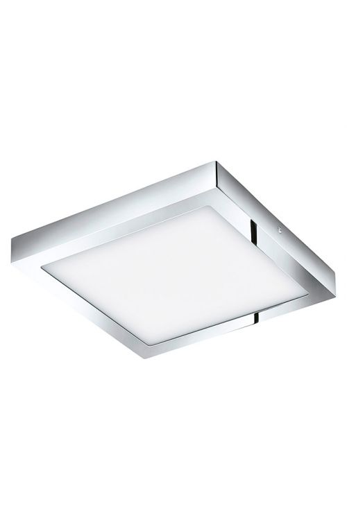 LED STROPNA SVETILKA EGLO FUEVA 1  (22 W, 220 lm, 3.000 K, IP44, 30 x 30 cm, krom)