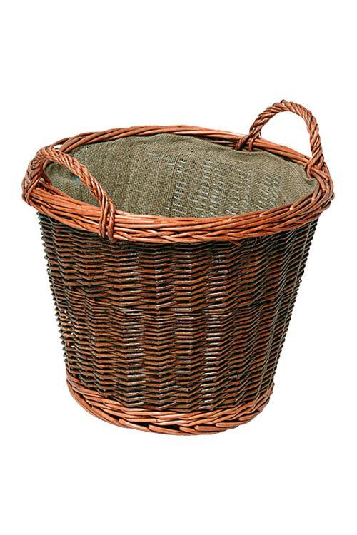 Košara iz vrbe, Lienbacher (rjava, premer: 41 cm)
