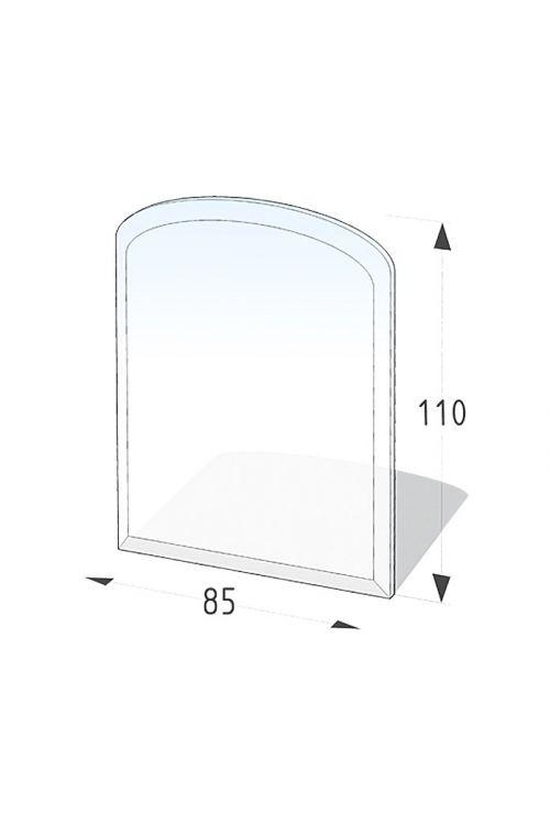 Steklena talna plošča, Lienbacher (segmentni lok, 85 x 110 cm)