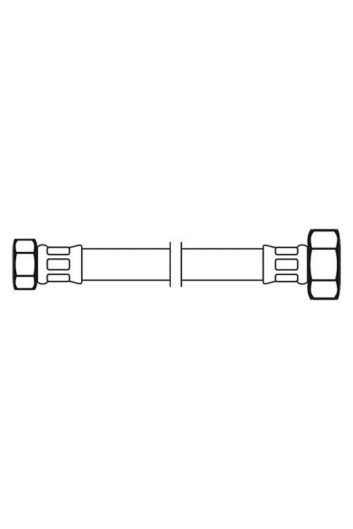 Priključna cev Flexo (½-palčna/⅜-palčna, dolžina: 100 cm)