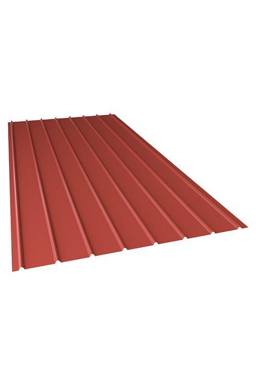 Jeklena pregradna valovita plošča PP12 (rdeča, 200 x 91 cm)