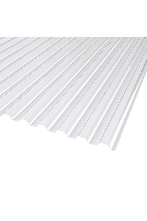 Valovita plošča Resist Plexiglas (trapez, 200 x 104,5 x 1,8 cm, 76/18 mm)