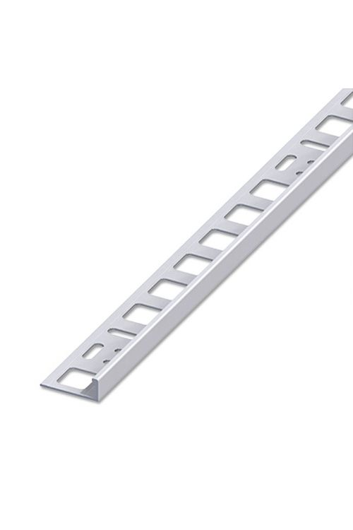 Profil za keramične ploščice (2,5 m x 8 mm, aluminij)