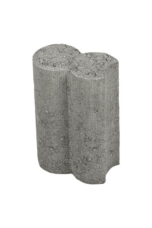Dvojni element za palisado (siva, 9 x 6 x 15 cm)