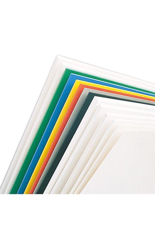 Plošča iz trde pene Protex (bela, PVC, 125 cm x 50 cm x 3 mm)