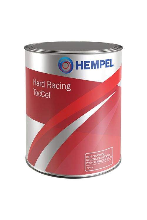 Trdi antivegetativni premaz Hard Racing TecCel, Hempel (True Blue, 750 ml)