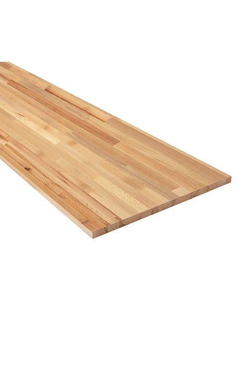 Plošča iz masivnega lesa (bukev, 200 cm x 80 cm x 2,5 cm)