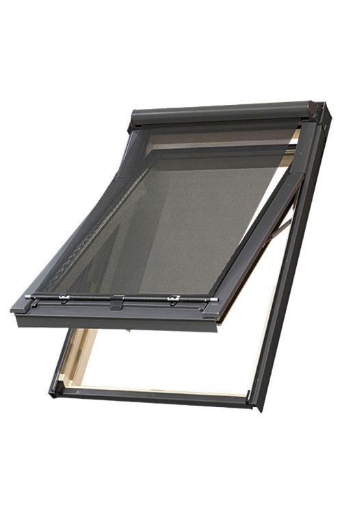 Zunanja markiza Solid Elements (primerna za: Strešno okno Solid Elements, Š x V: 78 x 140 cm, črna)