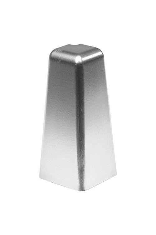 Zunanji vogalnik LOGOCLIC (srebrna, 2 kosa, primeren za: talno letev K50)