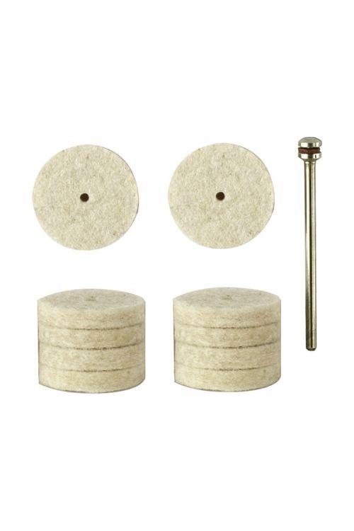 Polirni podložki Proxxon (10 kosov, premer: 22 mm)