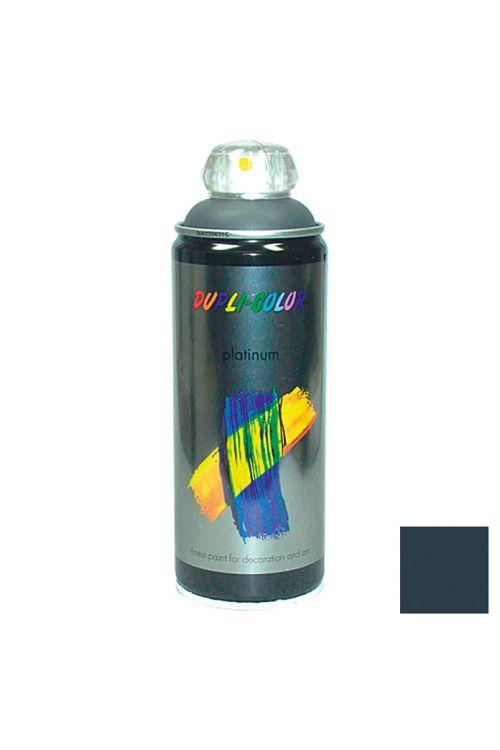 Platinasti barvni lak v razpršilu Dupli Color (400 ml, RAL 7016 antracitno siva, svilnato mat)