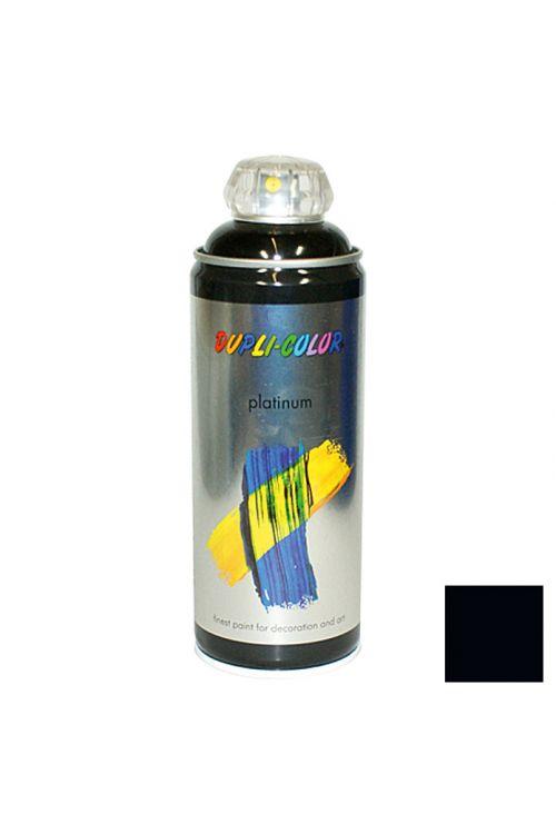 Platinasti barvni lak v razpršilu Dupli Color (400 ml, RAL 9005 črna, sijaj)