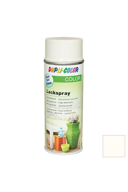 Barvni lak v razpršilu Dupli Color (400 ml, RAL 9001 kremno bela, sijaj)
