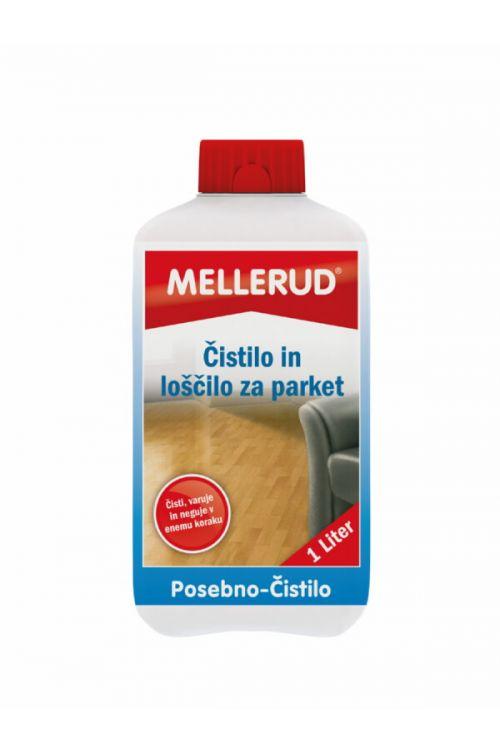 Čistilo in loščilo za parket Mellerud (1 l)