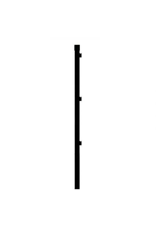 Komplet stebrov za ograjo Gardenfuchs (5 kosov, 150 x 3,4 cm)