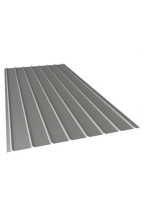 Valovita strešna pločevina PP12 (200 cm x 91 cm x 0,4 mm, naravna)