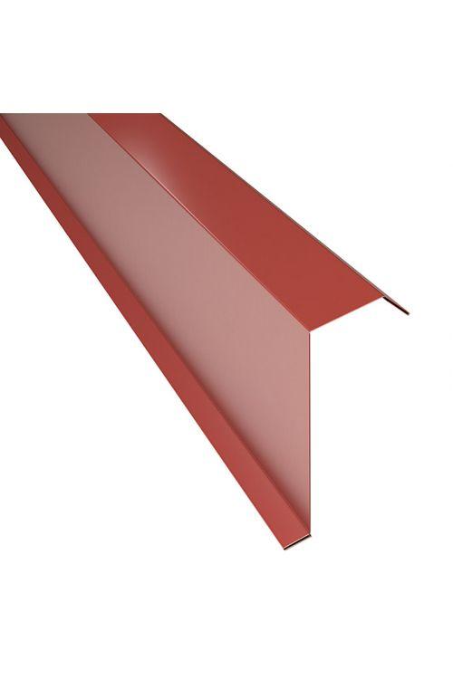 Robni kotnik PP12 (terakota, dolžina: 100 cm, jeklena pločevina)