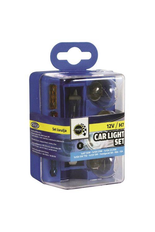 Set avtomobilskih žarnic (6-delni)