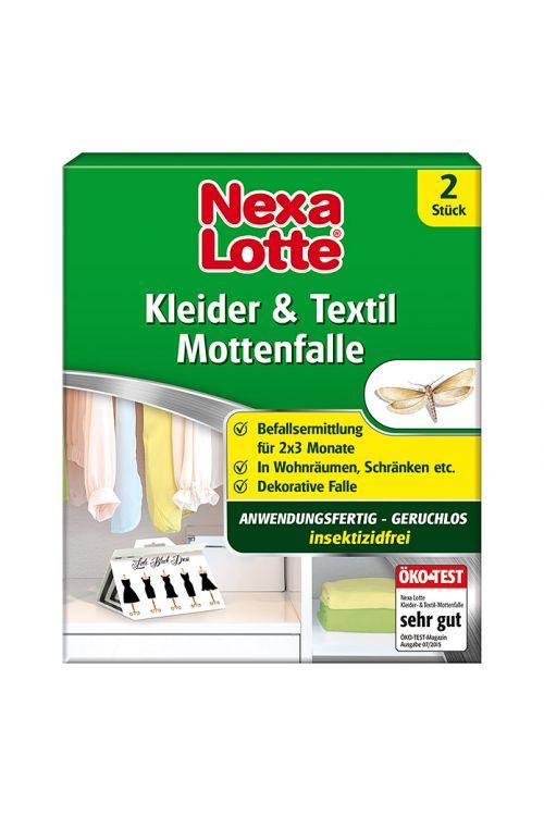 Vaba za tekstilne molje Nexa Lotte (2 kosa)