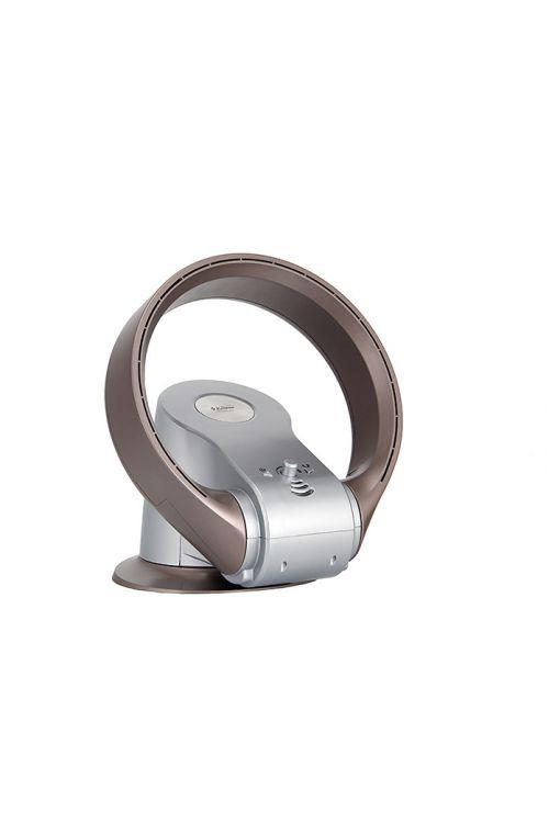 Namizni ventilator Proklima Inverter (26 W/1.100 W, višina 21 cm, srebrn)