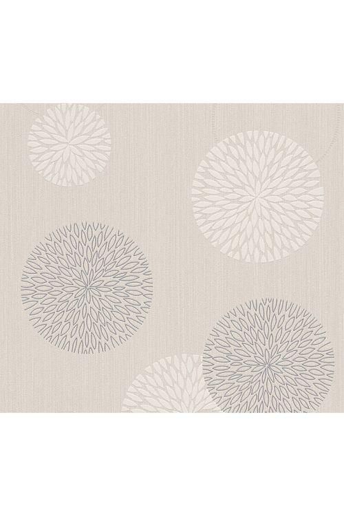 Tapeta iz netkane tekstilije Best of Vlies 2016 (bež, cvet, 10,05 x 0,53 m)